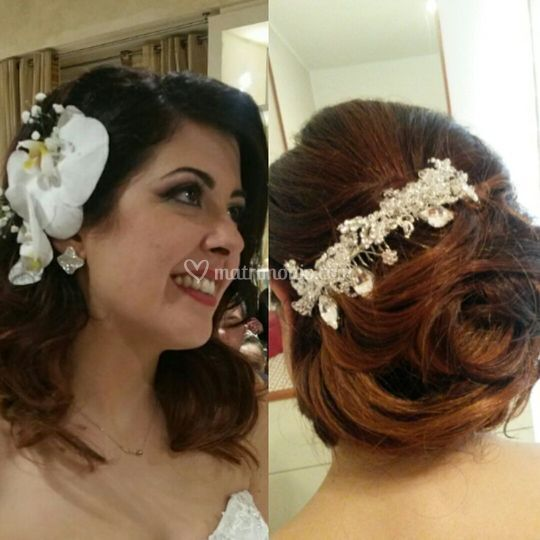 Cambio look wedding