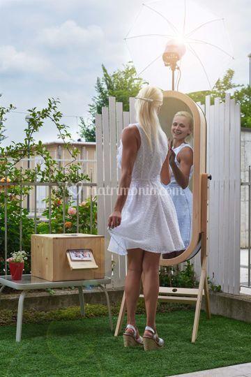 Photo booth per matrimonio