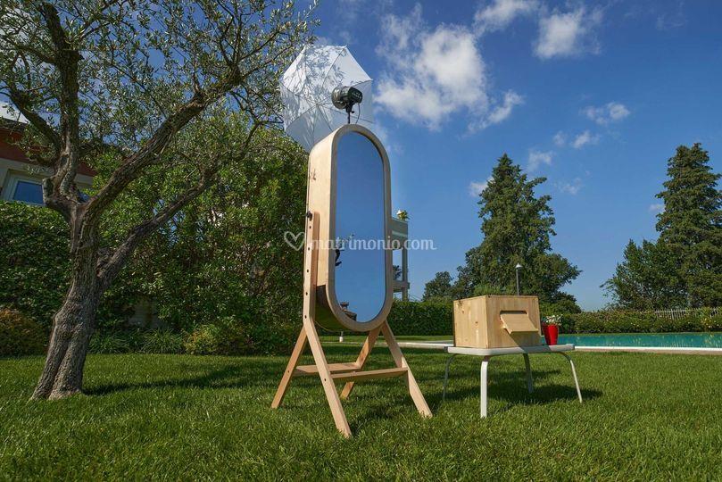 Photo booth elegante