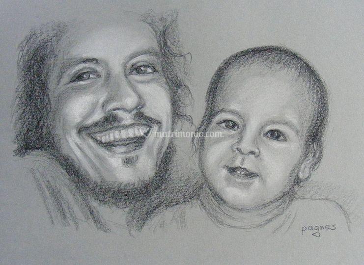 Ritratto di padre e figlio
