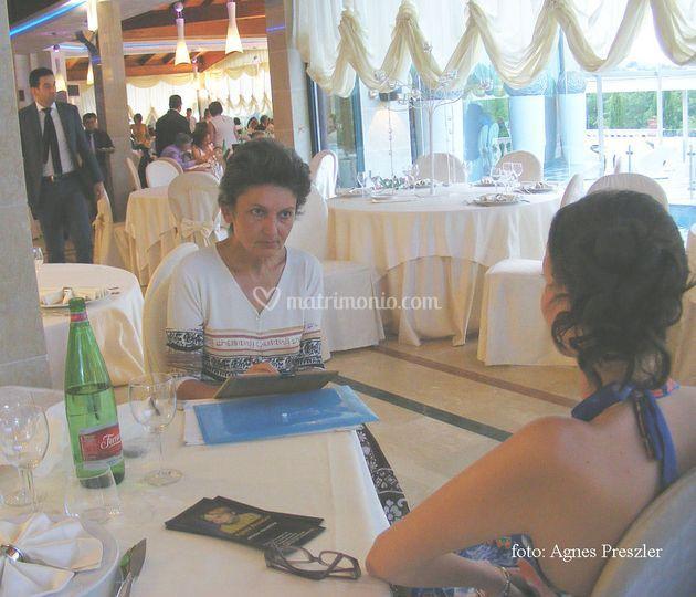 Ritratti di sposi ed invitati