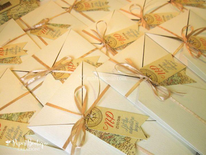 Matrimonio Tema Origami : Tema viaggio origami di paper boutique foto