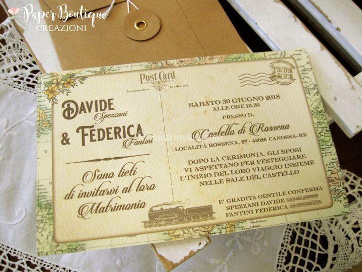 Partecipazioni Matrimonio Modena.Paper Boutique