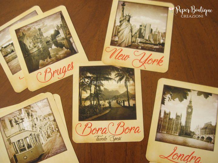 Matrimonio Tema Viaggio Tavoli : Segna tavolo tema viaggio di paper boutique foto 39