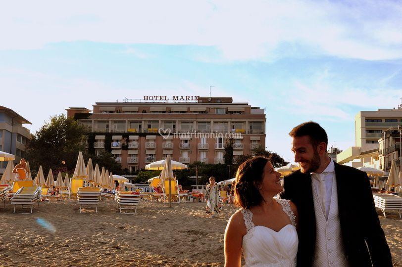 Matrimonio Spiaggia Lignano : Hotel marin weddings