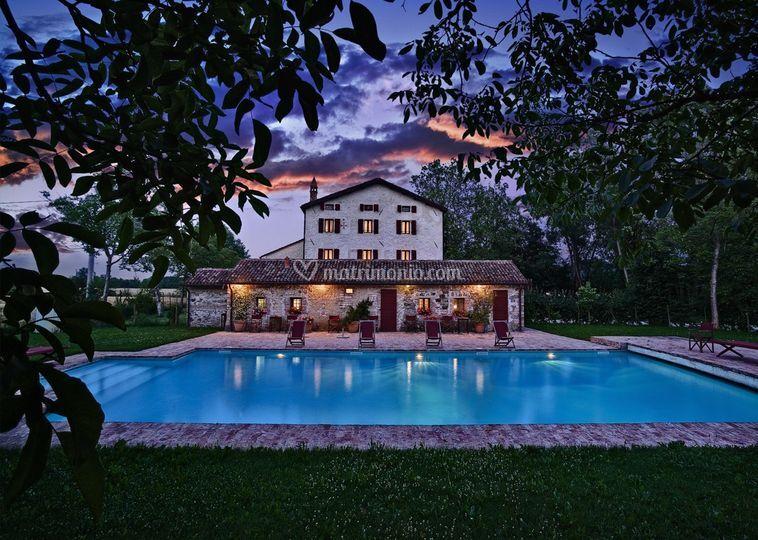 Villa Bencontenta - notte
