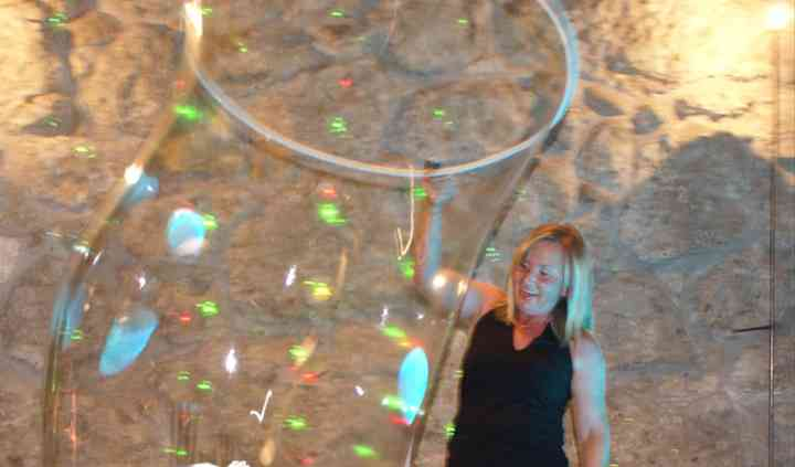 Bambini nella grande bolla