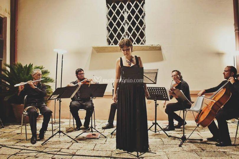 Soprano con Quartetto d'archi