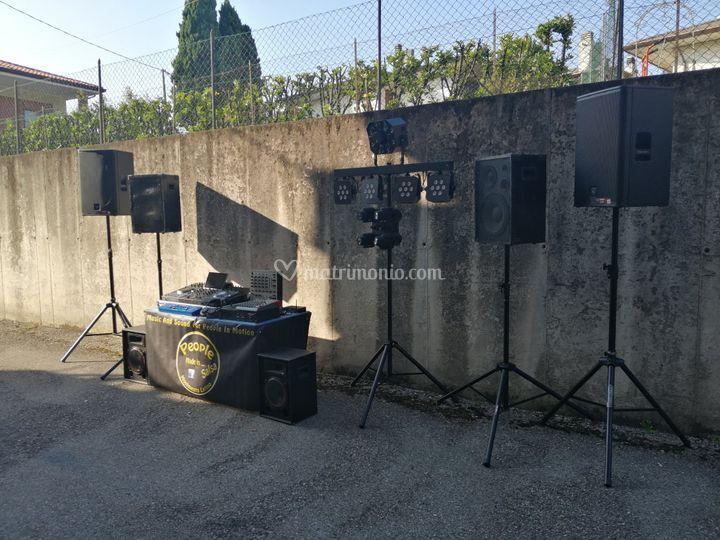Due impianti audio