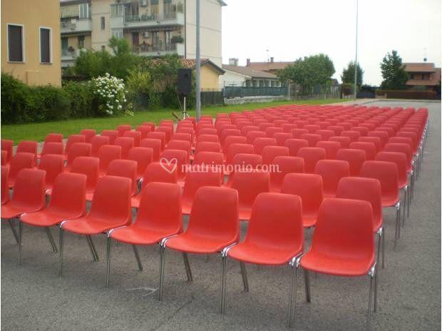Noleggio sedie