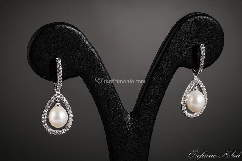 Pendenti con perle