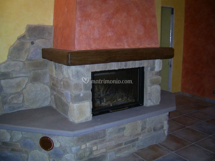 Rivestimento Camino In Pietra Pictures To Pin On Pinterest Pictures to ...