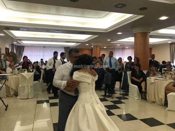 Ballo sposa con il Papà