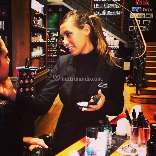 Make up evento Sephora