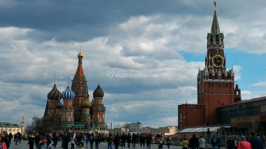Mosca e la PIazza Rossa