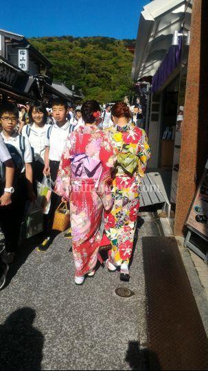 In visita a Fushimi Inari