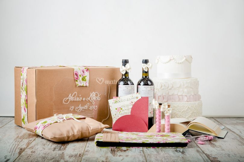 Wedding Box floreale