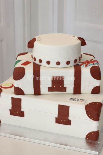 Wedding cake a tema viaggio