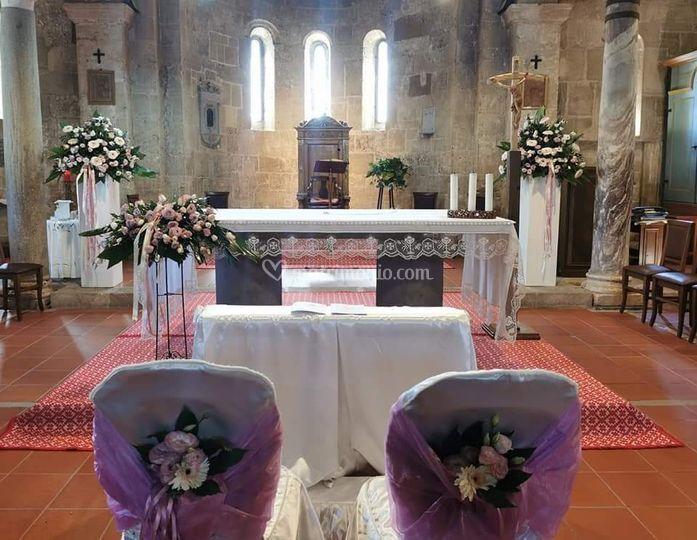 Allestimento floreale Basilica