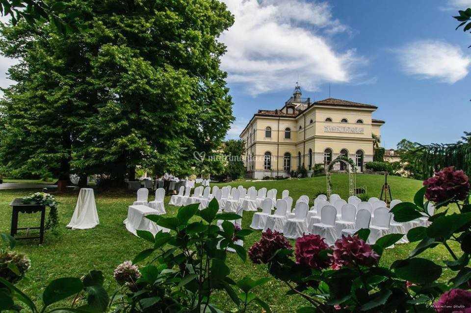 Villa Giacomelli - Esterni