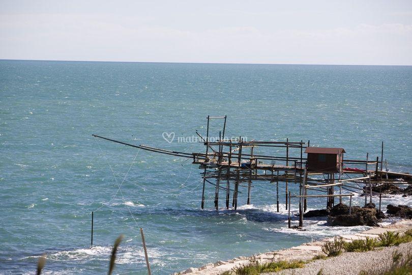 Trabocco (antica macchina da pesca)