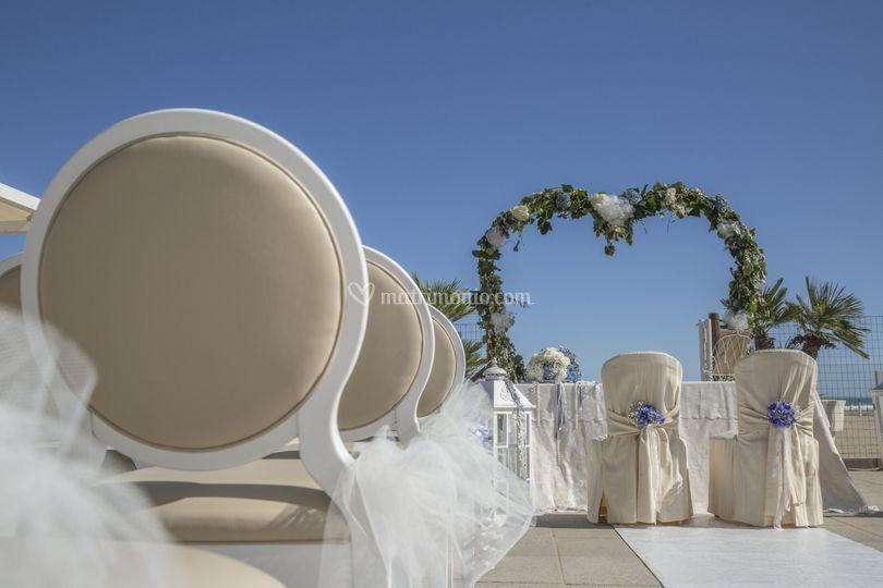 Il matrimonio sulla spiaggia