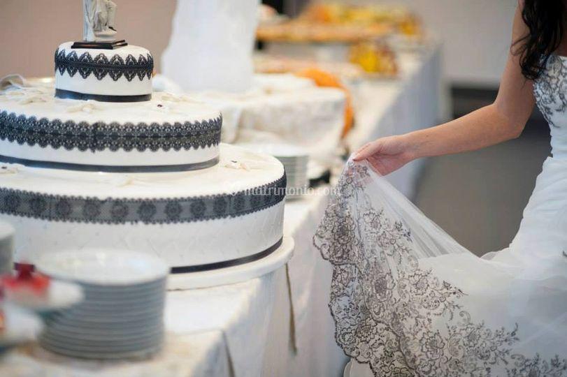 Torta Nuziale a Tema