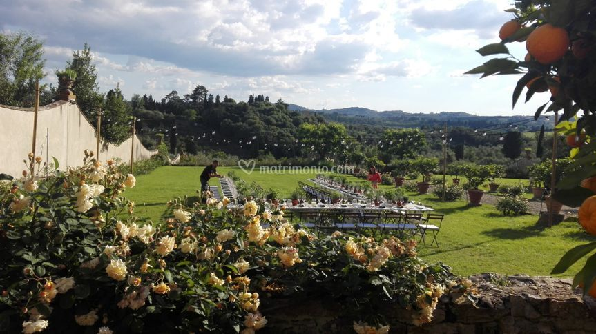 Wedding in an amazing venue