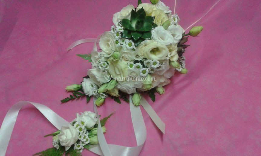 Bouquet e bracciale