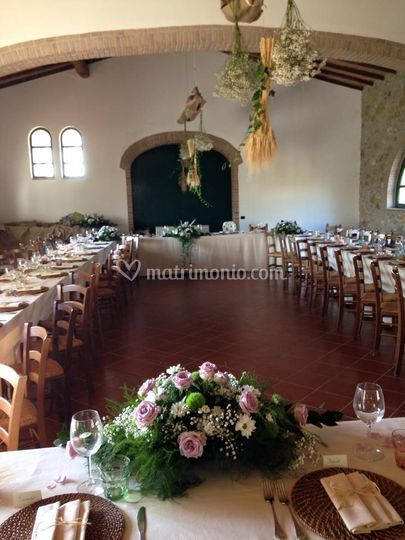Sala Matrimonio Toscana : Sala ricevimento di agriturismo la fontanella foto
