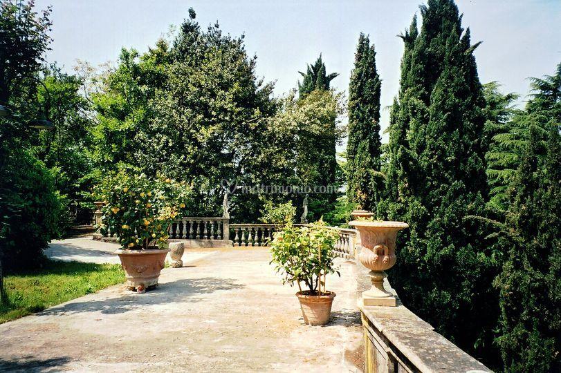 Terrazza Villa Aperitivi