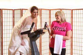 Sposa in perdita peso