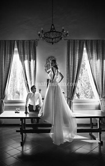 Ammirare la sposa