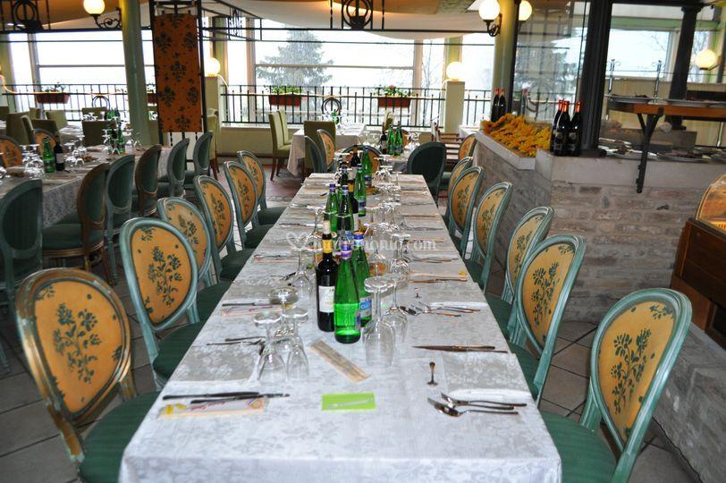 Pranzo  in terrazzo 200 posti