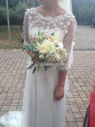 Bouquet con rose David Austin