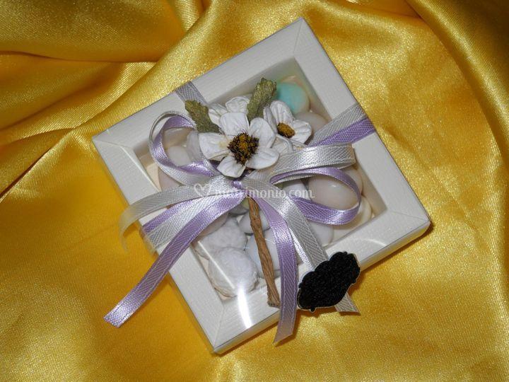 Scatolina 100 grammi confetti