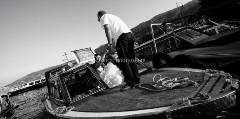 Arrivo della Sposa in barca