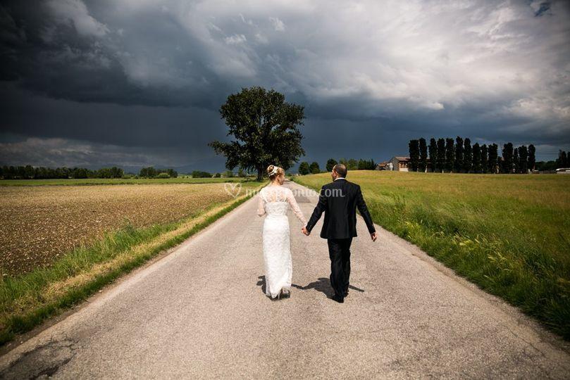Wedding storm
