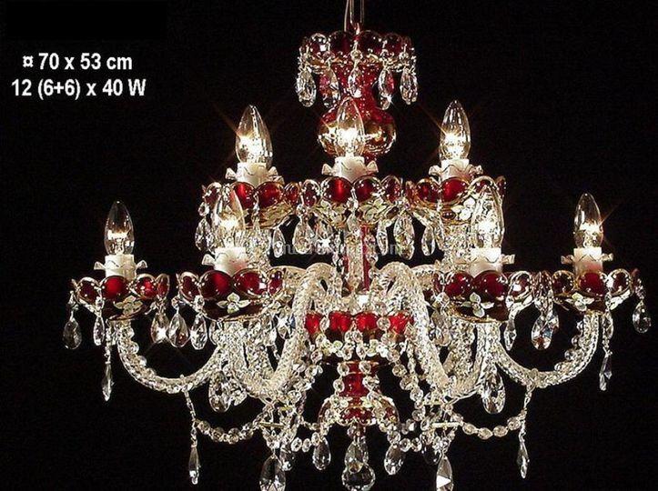 Lampade Cristallo Di Boemia : Lampade in salotto e cucina e luci di cristallo