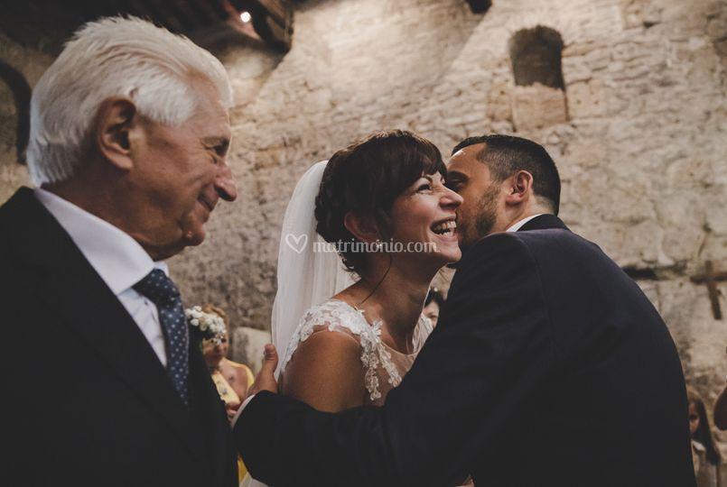 Incontro degli sposi
