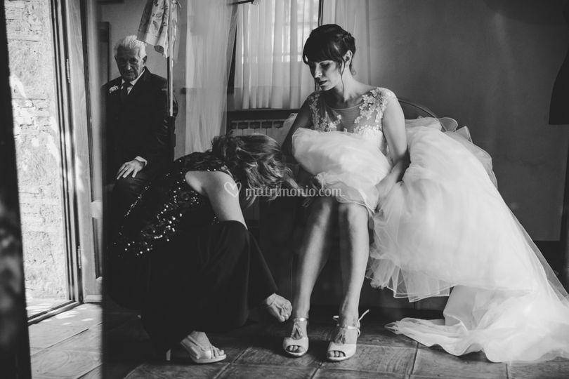 Sposa si prepara