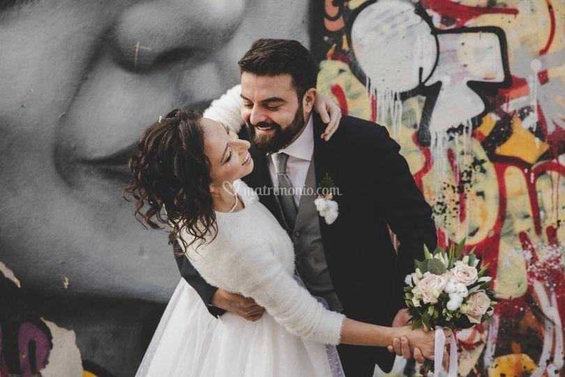 Complicità tra i gli sposi