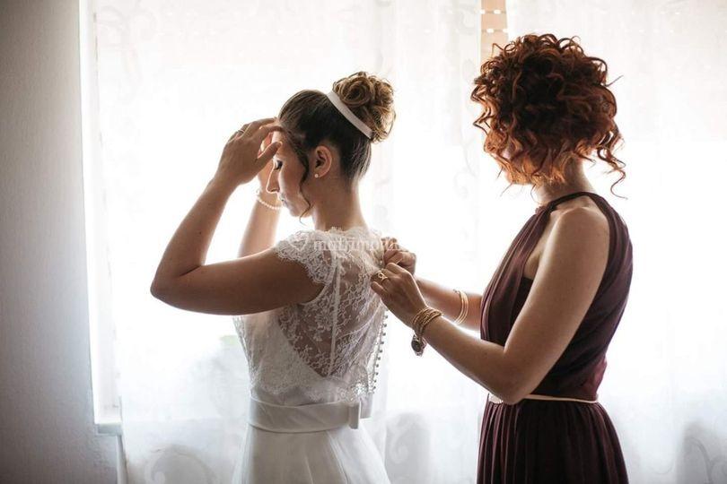Sposa e testimone