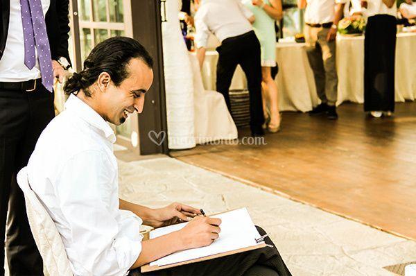 Caricaturista Adibe Zazou di Caricaturista digitale by Zazou