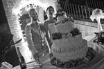 Taglio della torta al pozzo