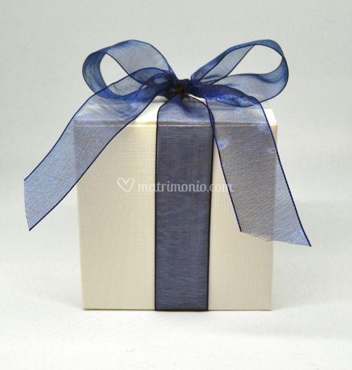 Bomboniera blu
