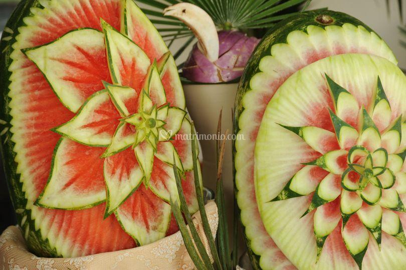 Frutta scolpita