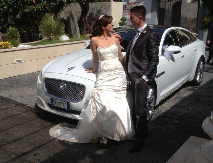 New jaguar xj bianco luxury