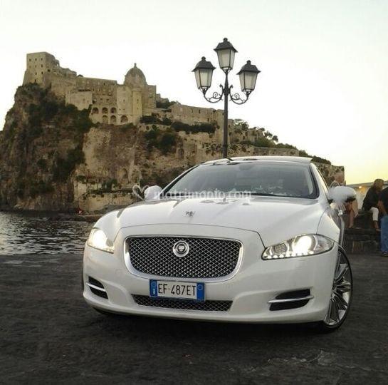 New jaguar xj bianco (ischia)