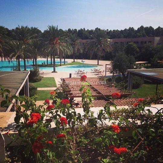 Otium vista piscina